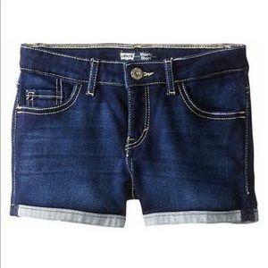 Levi's Girls' Knit Denim Shorty Short